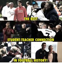 Sir Alex and C. Ronaldo... 👏: AIG  AF  THE BEST  2  ROn  ALDO  ATC  STUDENT-TEACHER CONNECTION  IN FOOTBALL HISTORY Sir Alex and C. Ronaldo... 👏