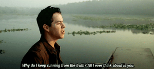 Truth, Running, and Net: ainatu  Why do I keep running from the truth? All l ever think about is you. https://iglovequotes.net/