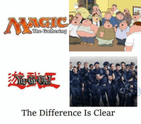 Memes, 🤖, and Clear: Aincic  The Gathering  The Difference Is Clear