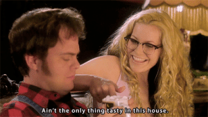 classichorrorblog:    House Of 1000 CorpsesDirected by Rob Zombie (2003)   : Ain't the only thing tasty in this house. classichorrorblog:    House Of 1000 CorpsesDirected by Rob Zombie (2003)