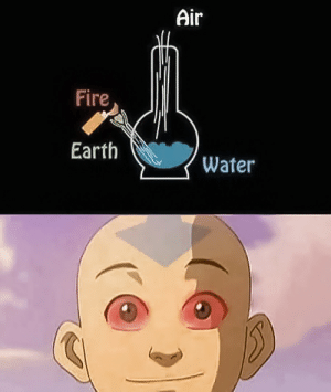 Dank, Fire, and Memes: Air  Fire  Earth  Water You know, Im something of an Avatar myself by John-Dun MORE MEMES