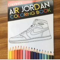 Air Jordan, Memes, and amazon.com: AIR JORDAN  COLORING BOOK Air Jordan and Sneakerhead coloring book on sale for Valentine's day order your books now At coloringbooklife.com or Amazon.com Or just follow us @jordancoloringbook and tap on the link in our description to order