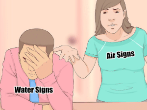 Break, Stuff, and Water: Air Signs  Water Signs  fa Just some basic stuff to break the ice