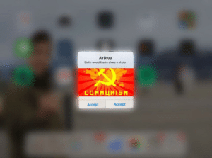 Joseph Stalin begins his spread of communism across Eastern Europe (1945): AirDrop  Stalin would like to share a photo  Accept  Accept Joseph Stalin begins his spread of communism across Eastern Europe (1945)