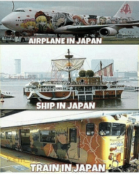 Take me there now - Follow the best dbz account @goku_the_brocoly: AIRPLANE IN JAPAN  SHIP INNAPAN  TRAIN IN JAPAN Take me there now - Follow the best dbz account @goku_the_brocoly