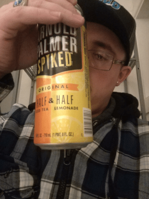 I think I ruined my relationship tonight through a text that she took the way I didn't want her to take it. Who's drinking with me?: AIVULU  ALMER  WPIKED  TM  ORIGINAL  HALF&HALF  LEMONADE  CED TEA  JR.-70mL (1 PINT, 8 FL 0Z.)  A. I think I ruined my relationship tonight through a text that she took the way I didn't want her to take it. Who's drinking with me?