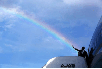 Obama legalizes gay marriage (c. 2015, colorized): AJAS Obama legalizes gay marriage (c. 2015, colorized)