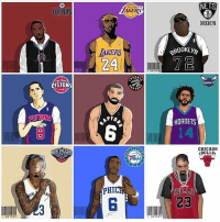 Memes, Nba, and Rap: AKERS  NETS  CLIPPERS  BROOKLYN  AKERS  24  BROOKLYI  72  OND  ORO  HORNET  STONS  HORNETS  6  CHICAG0  ABULLS  引ULLS  23  PHIL  C3  6 Name your top 5 rappers of all time 👇🏽👇🏽👇🏽 ART BY: @i.sktchy - nba rap nbadebate debate