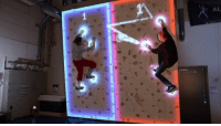Pong version 2016! I really want to test it! 😃 Credit: Augmented Climbing Wall! ;): AL  A Pong version 2016! I really want to test it! 😃 Credit: Augmented Climbing Wall! ;)