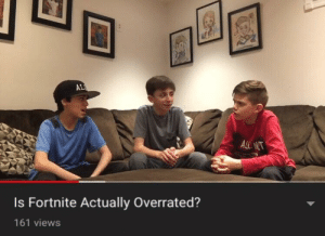 Overrated, MeIRL, and Alc: AL  ALC  Is Fortnite Actually Overrated?  161 views meirl