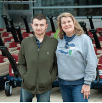 A 15-year-old cancer survivor donated 300 toy wagons to a hospital in Delaware for families and medical staff to use. The wagons can be used in the place of wheelchairs to transport young patients needing cancer treatment, making them a fun alternative.: Al duPont Hospital for Children Nemours via Storyful  PETER POWRSE A 15-year-old cancer survivor donated 300 toy wagons to a hospital in Delaware for families and medical staff to use. The wagons can be used in the place of wheelchairs to transport young patients needing cancer treatment, making them a fun alternative.