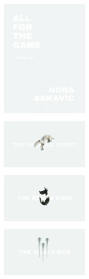 Target, The Game, and Tumblr: AL  FOR  THE  SANE  A TRILOGr3  OR   THE FO  LE coURT   THE  'S ME andrewj-minyard:All for the Game, Nora Sakavic.