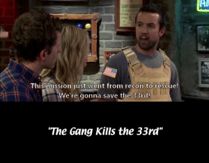 """Birthday, Gang, and Happy: Al  GARY  M  DOORS  OPEN  AT  This missionjust went from recon to rescue!  We're gonna save the 33rd!  """"The Gang Kills the 33rd"""" Happy (late) 7th birthday Spec Ops: The Line! (Mild Spoilers)"""