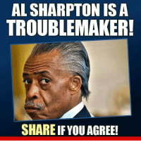 Al Sharpton, Als, and Maker: AL SHARPTON IS A  TROUBLE MAKER!  SHARE IF YOUAGREE! Extremely Pissed off RIGHT Wingers 2