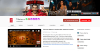 """Blade, Community, and Music: ALA  RE  AALA  HEER BADNAAM  ZERO  ZERO MOVIE SONG  21 LECEMBER 2018  SONG OUT NOW  SONG OUT NOW  T-SeriesaO  l SOCIAL BLADE STATS  SUBSCRIBE 76M  SERIES  0 subscribers  HOME  VIDEOS  PLAYLISTS  COMMUNITY  CHANNELS  ABOUT  ZERO: Heer Badnaam  Shah Rukh Khan, Katrina Kaif, Anushka  OTHER GREAT CHANNELS  ZERO: Heer Badnaam 
