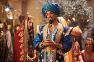 (Aladdin 2019) After decades of struggling with Directors, Will Smith finally landed a role that didn't require his bulbous cranium to be digitally altered.: (Aladdin 2019) After decades of struggling with Directors, Will Smith finally landed a role that didn't require his bulbous cranium to be digitally altered.