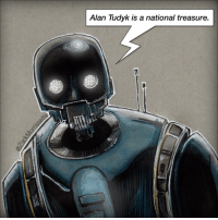 NO SPOILER REVIEW: Rogue One is so good it really makes you appreciate how shitty the prequels were. Also @alantudyk is a goddamn national treasure. rogueone starwars starwarsrogueone k2so droid nospoilers: Alan Tudyk is a national treasure. NO SPOILER REVIEW: Rogue One is so good it really makes you appreciate how shitty the prequels were. Also @alantudyk is a goddamn national treasure. rogueone starwars starwarsrogueone k2so droid nospoilers