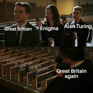Anime, History, and Britain: Alan Turing  Enigma  -Great Britian  Great Britain  again  समध Top 10 anime betrayals