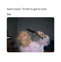 Clock, Zero, and Alarm: Alarm clock: 15 min to get to worlk  Me: Admin reveal. ( @zero_fucksgirl )