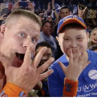 "Repost @sportscenter: "" JohnCena grants young fan's wish after winning the Last WWE Championship at the RoyalRumble."" 👏🙏 WSHH: Alaska  and Was Repost @sportscenter: "" JohnCena grants young fan's wish after winning the Last WWE Championship at the RoyalRumble."" 👏🙏 WSHH"
