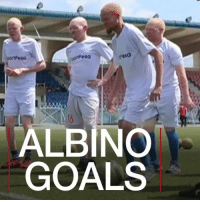 26 JUL: A Tanzanian football team made up entirely of albinos is fighting back against dangerous prejudice and stereotypes, with a little help from English Premier League side Everton FC. Find out more: bbc.in-Albinos Albinos Albinism AlbinoUnited AlbinoUnitedFC Tanzania EvertonFC BBCShorts BBCNews @BBCNews: ALBINO  GOALS 26 JUL: A Tanzanian football team made up entirely of albinos is fighting back against dangerous prejudice and stereotypes, with a little help from English Premier League side Everton FC. Find out more: bbc.in-Albinos Albinos Albinism AlbinoUnited AlbinoUnitedFC Tanzania EvertonFC BBCShorts BBCNews @BBCNews