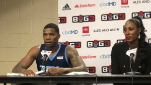 """I still get butterflies in my stomach.""  38-year-old Joe Johnson talks about his love for the game after breaking @TheBIG3 record for points in a season. https://t.co/KAZuvWpdbQ: ALEX AND  State Farm cbdMD  adidas  TOYOTA  PwG  G3 BG3  B  cbdMD  ALEX AND ANI  as  TOYOTA  BG  State Farm cbdN  cbdMD  B ""I still get butterflies in my stomach.""  38-year-old Joe Johnson talks about his love for the game after breaking @TheBIG3 record for points in a season. https://t.co/KAZuvWpdbQ"