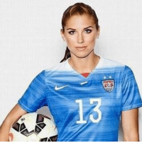 "Alex Morgan: ""Give a man a woman who loves football, and he will be happy for a lifetime."": Alex Morgan: ""Give a man a woman who loves football, and he will be happy for a lifetime."""