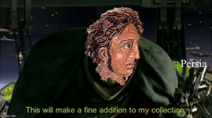 Alexander the Great after conquering Persia.: Alexander the Great after conquering Persia.