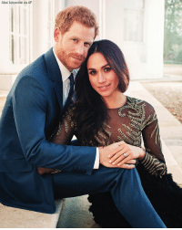 Just in: Kensington Palace has released Prince Harry and Meghan Markle's official engagement photos, at Frogmore House, in Windsor, England.: Alexi Lubomirski via AP Just in: Kensington Palace has released Prince Harry and Meghan Markle's official engagement photos, at Frogmore House, in Windsor, England.
