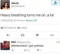 "Bitch, Chick-Fil-A, and College: Alexis  @imlexiwest  Heavy breathing turns me on..a lot  17/02/2016, 07:14 from Bronx, NY  15 RETWEETS 21 LIKES  わ  17  Mel @Flyguymel_一  11h  @imlexiwest I got asthma  10  00 11 ttstorytime - *9:30 pm* *30 mins til close* *me working register at Chick Fil A* *like 40 college students come in* *instantly gets depression* *some white girl in a Butler shirt comes up to the register* ""Hi, will this be dine in or carryout?"" *please say carryout* ""Dine in."" *fuck off cunt* ""May I please have a 3 meal with EXTRA Chick Fil A sauce."" *FIRST OF ALL YOU DUMB CUNT. 8 COUNT OR 12 COUNT?* ""Will that be an 8 or 12 count meal?"" ""8."" *she takes out her card and swipes it immediately* *FIRST OF ALL, WHAT THE FUCK DO YOU WANT TO DRINK?* ""Sorry I didn't catch your drink."" ""Oh, uhhhhhhhhhhhhhh I'll have a large coffee."" *resisting the urge to strangle this bitch* *FIRST OF ALL, ITS 9:30 AND WE DONT HAVE COFFEE BREWED* ""Ok. That might take a while because we have no coffee brewed right now. Is that ok?"" ""Sure."" *she walks away* *FIRST OF ALL, TAKE YOUR FUCKING TABLE MARKER* ""Ma'am, your table marker."" ""Oh! Sorry."" *she looks at it* ""Um, what is this for?"" *FIRST OF ALL, DID I NOT SAY IT WAS A TABLE MARKER? WTF ELSE WOULD IT BE* ""It's how we deliver the food to your table."" ""Oh that's cool!"" *she looks inside of it again* ""Can I have more Chick Fil A sauce?"" *BITCH I PUT LIKE 5 IN THERE* *adds 3 more* ""More."" *adds another 3* ""Sorry just a little bit mo-"" ""Nah fuck that cmere."" *jumps across the counter and and right hooks her across the jaw* *she fold like an omelet and falls onto the Chick Fil A sauce* ""Now I gotta clean that shit up too. Fucking white college students."""