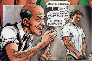 "Alfred dares to express his long-repressed feelings for ""master"" Bruce…: Alfred dares to express his long-repressed feelings for ""master"" Bruce…"