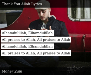 Maher Zain-Thank You Allah-Thank You Allah