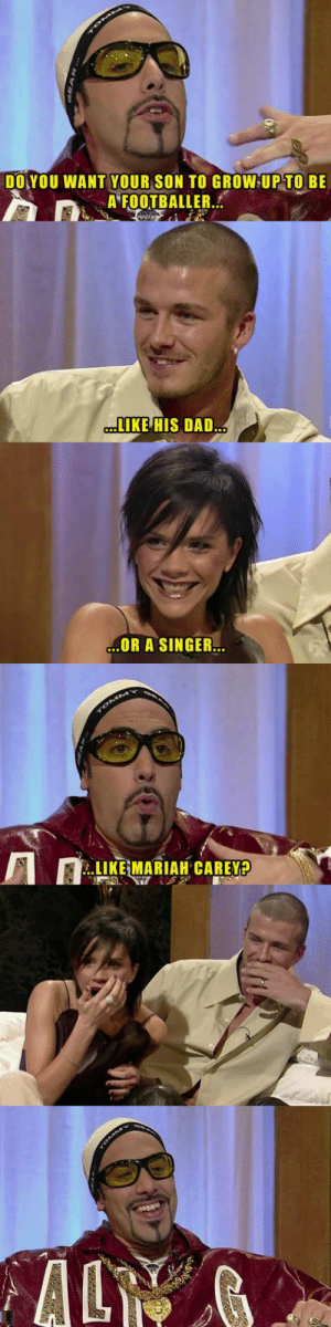 Ali G interviews David Beckham and Posh Spice: Ali G interviews David Beckham and Posh Spice