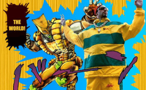 Ali G x JoJo (a little Shitpost I made with Photoshop, I'm not very good at it tho): Ali G x JoJo (a little Shitpost I made with Photoshop, I'm not very good at it tho)