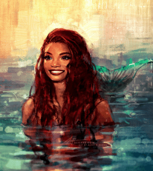alicexz: A quick concept painting I did of Halle Bailey, who was announced as the new live-action Ariel! WHICH I AM INCREDIBLY HERE FOR This already went crazy viral so there's probably reposts out there already but anyway here's the original tweet and Instagram post if ya'll care to share~ : ALICEXZ COM  ART BY ALICE X. ZHANG alicexz: A quick concept painting I did of Halle Bailey, who was announced as the new live-action Ariel! WHICH I AM INCREDIBLY HERE FOR This already went crazy viral so there's probably reposts out there already but anyway here's the original tweet and Instagram post if ya'll care to share~
