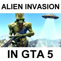 Why can't Rockstar add this into the game?😤 Do you love watching GTA videos? THEN FOLLOW ME (@FULLGTA)🤷‍♂️ Credit: Jelly YT: ALIEN INVASION  IN GTA 5 Why can't Rockstar add this into the game?😤 Do you love watching GTA videos? THEN FOLLOW ME (@FULLGTA)🤷‍♂️ Credit: Jelly YT