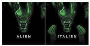 Dank, Definitely, and Memes: ALIEN  ITALIEN Definitely read this in an accent. by scarymum MORE MEMES