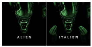 Alien, Hand, and Out-Of-Hand: ALIEN  ITALIEN These sequels are getting out of hand