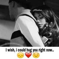 You Right: Alisha.  I wish, i could hug you right now