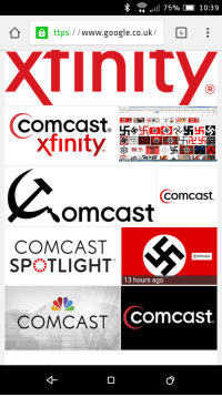 Comcast will be contacting imgur again: all 75%  10:39  www.google.co.uk  4  Comcast.  Xfinity  Comcast  OmCast  COMCAST  Comcast.  SP LIGHT  13 hours ago  COMCAST  Comcast. Comcast will be contacting imgur again