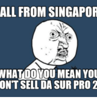 ALL FROM SINGAPOR  NHALOOMOUMEAN You  ONT SELL DASUR PRO 2