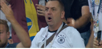 Soccer, German, and All: All German fans right now #GERSWE https://t.co/Zv9FgGZ4Bn