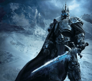 All hail the Lich King, Arthas Menethil, King of the Scourge, beautiful character arc.: All hail the Lich King, Arthas Menethil, King of the Scourge, beautiful character arc.