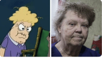 All I can think about while watching Making A Murderer part 2 is how Steven Avery's mom looks just like the chocolate lady from spongebob: All I can think about while watching Making A Murderer part 2 is how Steven Avery's mom looks just like the chocolate lady from spongebob