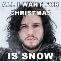 Memes, 🤖, and All I Want for Christmas: ALL  I WANT FOR  CHRISTMAS  IS SNOW #Christmas is coming