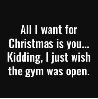 All I Want for Christmas Is You, Boxing, and Gym: All I want for  Christmas is you.  Kidding, I just wish  the gym was open. 😂💪🏼 . @DOYOUEVEN - 70% OFF BOXING DAY SALE! 🎉 click the link in our BIO ✔️
