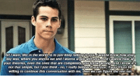 Arguing, Beautiful, and Dylan O'Brien: All I Want like in the World is to justkeep talkinguOyou, I Wanna know how your  day was, where you wanna eat and wanna argue with you. And wanna hearall  your theories, even the ones that are completely you know wrong And know its  not that simple, but Ijustuhink-no, ireally believeryoulust, ifvoudlustbe  willing to continue this conversation with me, then we can figure the rest out dylan o'brien you are a beautiful angel https://t.co/dIXCMs15Sm