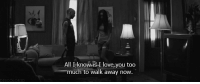 Love, Too Much, and I Love You: All Iknow is-I love,you too  much to walk away now http://iglovequotes.net/