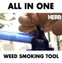 Memes, Smoking, and Weed: ALL IN ONE  HERB  WEED SMOKING TOOL The first all in 1 kit for smoking on the go 🔥🔥 With @alphapuffkit
