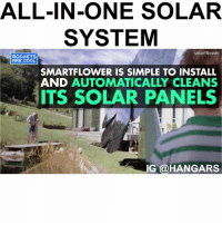 ALL-IN-ONE SOLAR SYSTEM Smartflower ROCKETS ARE COOL SMARTFLOWER IS